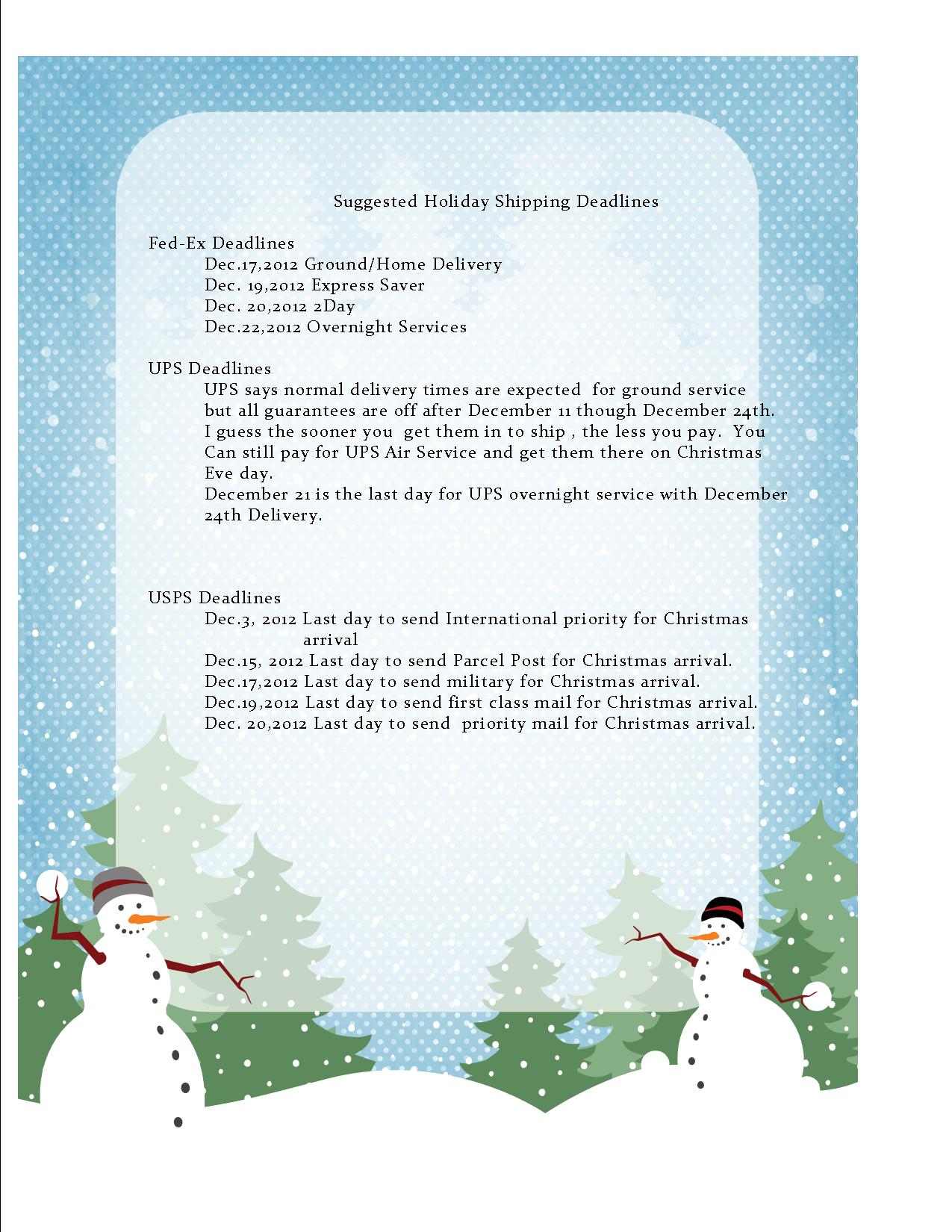 Christmas 2012 | Wepak-n-Ship